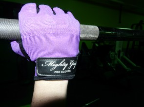Mighty Grip PRO TACK  Handschoen Paars