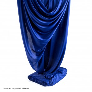 X pole Silk Blue
